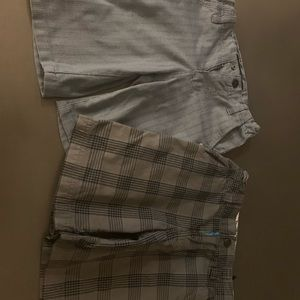 2 pairs of shorts - Shawn white and quicksilver
